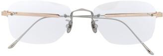Cartier Frameless Oval Glasses