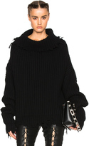 Unravel High Neck Oversized Rib Knit