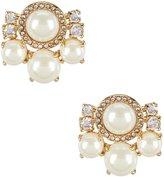 Kate Spade Pearls of Wisdom Cluster Stud Statement Earrings