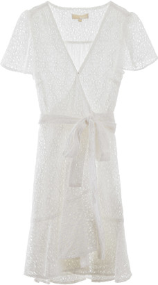 MICHAEL Michael Kors Macrame Lace Wrap Dress