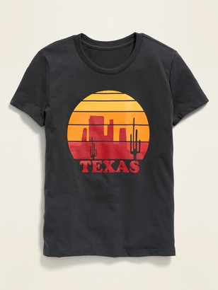 Old Navy Texas Graphic Soft-Washed Tee for Girls
