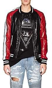 Balmain Men's Colorblocked Tech-Taffeta Bomber Jacket