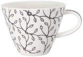 Villeroy & Boch 1035251300 Caffà ̈ Club Floral Steam Coffee Cup, Grey