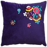 My Friend Paco Lola Hand Embroidered Pillow