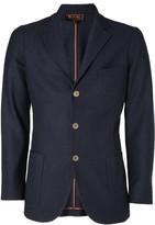 Loro Piana Navy Cashmere and Silk-Blend Unstructured Blazer