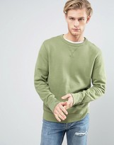 Converse Essentials Luxe Sweat In Green 10000654-A09
