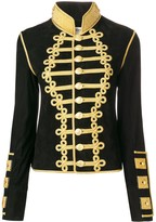 Jessie Western cropped military jacket