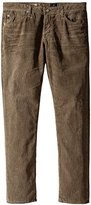 AG Adriano Goldschmied Men's Graduate Tailored Leg Cord In Hi-White Brindle