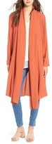 Line & Dot Women's Iglesia Shawl Collar Long Coat
