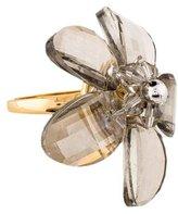 Kate Spade Crystal Flower Ring