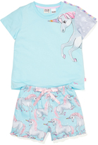 Peter Alexander peteralexander Girls Unicorn Pj Set