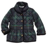 Ralph Lauren Baby's Plaid Quilted Jacket