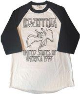 Delaware Print House LED Zeppelin Rock Band Tribute Shirt Men's Baseball 3/4 Sleeve Tee New