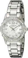 Stuhrling Original Women's 703B.01 Vogue Audrey Silver-Tone Watch