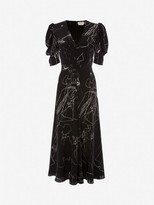 Alexander McQueen Dancing Girls Midi Dress