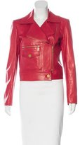 Chanel Leather Moto Jacket