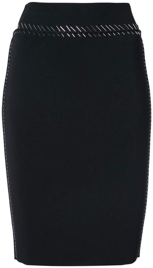 Alexander Wang sequin embellished skirt