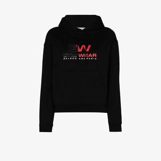 Balenciaga Gym Wear logo cotton hoodie