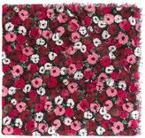 Saint Laurent 'Fleurs' large scarf - women - Silk/Cashmere - One Size
