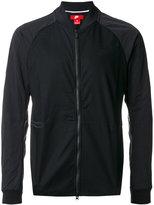 Nike zipped lightweight jacket - men - Cotton/Nylon/Spandex/Elastane - S