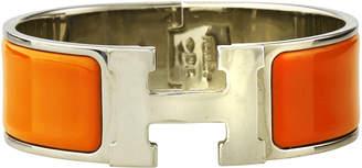 Hermes Estate Clic Clac H Bracelet, Orange