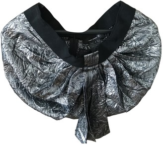 Isabel Marant Silver Synthetic Skirts
