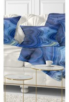 Abstract Agate Stone Design Lumbar Pillow East Urban Home
