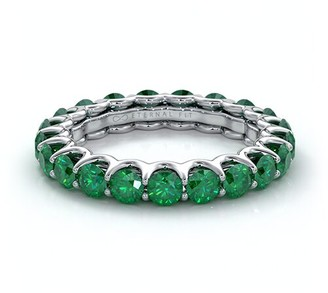 The Eternal Fit 14K 3.10 Ct. Tw. Emerald Eternity Ring