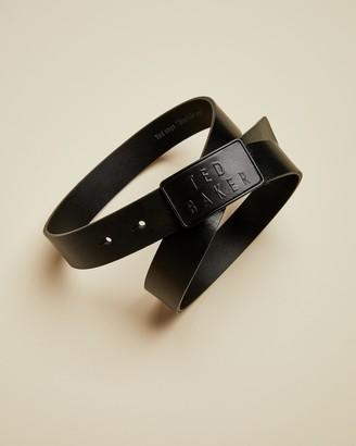 Ted Baker GAME Branded leather belt
