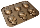 Nordicware Formed Skull Cakelette Pan Bronze