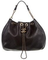 Chanel 2016 Paris-Rome Drawstring Bag