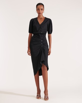 Veronica Beard Atia Ruched Dress
