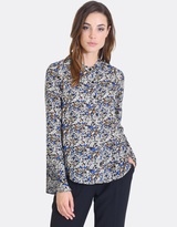 Forcast Serenity Pleated Blouse