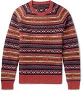J.crew - Fair Isle Wool Sweater