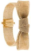 Lanvin bow cuff bracelet