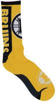 For Bare Feet Boston Bruins Jump Key II Socks