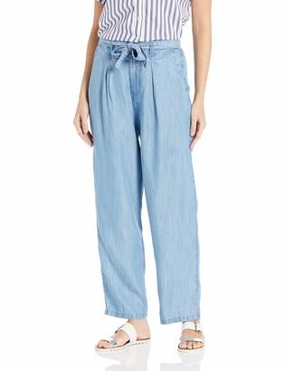 Volcom Junior's Women's Sunday Strut High Rise Loose Fit Trouser Pant
