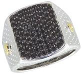 Effy Jewelry Gento Black Sapphire Ring, 1.99 TCW