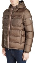 Moncler Men's Morane Hooded Down Quilted Jacket