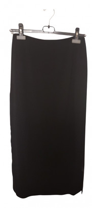Hermes Black Wool Skirts
