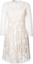 Stella McCartney polka dot lace dress - women - Cotton/Polyester - 38