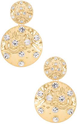 Ettika Double Disk Earring