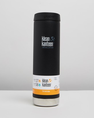 Klean Kanteen Black Home - TKWide Vacuum Insulated 20oz with Cafe Cap - Size One Size at The Iconic