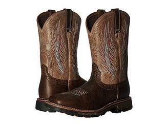Ariat Workhog Mesteno II (Rustic Brown/Stone) Cowboy Boots