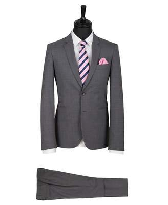 Paul Smith Wool Stretch Slim Fit Suit Colour: GREY, Size: 40