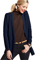 Charter Club Sweater, Long-Sleeve Cashmere Open Cardigan