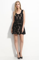 Lace Overlay Dress (Nordstrom Exclusive)
