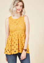 ModCloth Outstanding Attitude Sleeveless Top in L