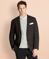 Brooks Brothers Windowpane Stretch-Cotton Sport Coat