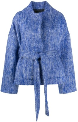 Christian Wijnants Felted Wrap Jacket